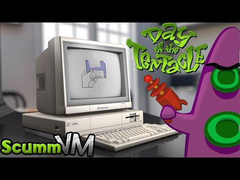 Amiga ScummVM - Day Of The Tentacle