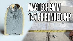 Magtech 9mm 147 gr Bonded JHP (Ammo & Gel Test Review)