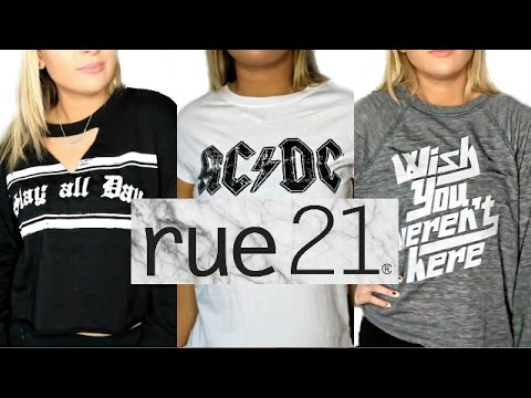 Huge Rue 21 Try On Clothing Haul Going Out Of Business Youtube