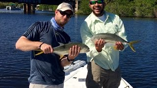 Indian River Lagoon -  Spoil Island Camping & Fishing the Creek Mouths