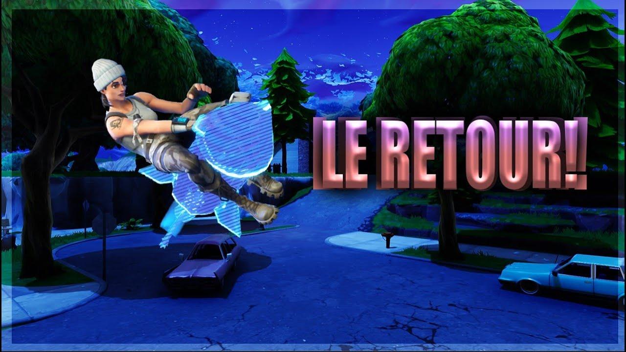 LE RETOUR!