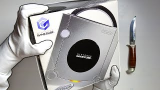 NINTENDO GAMECUBE UNBOXING! Limited Edition Platinum Console + Super Smash Bros Melee Gameplay