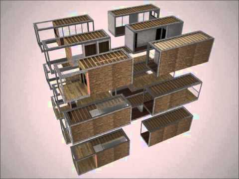 Modular Apartment Assembly Diagram