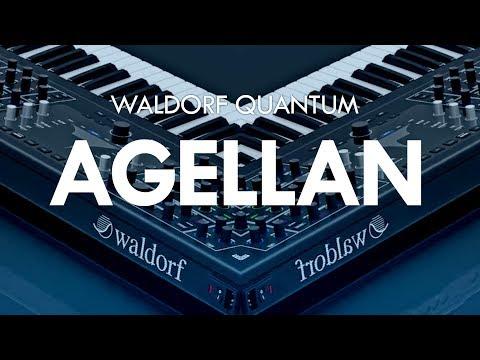 Waldorf Quantum demo - AGELLAN Custom made preset by CO5MA