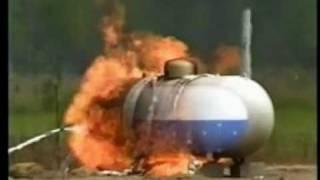 LPG Tankı Bleve Patlaması