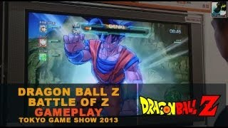 Dragon Ball Z: Battle of Z / Tokyo Game Show 2013 Gameplay - Play-Select