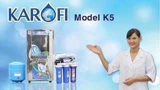 [ENTERBUY] Máy lọc nước RO Karofi K5 - Màng RO nhập khẩu Mỹ