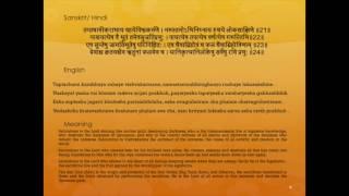 Aditya Hridayam Stotram with lyrics and meaning