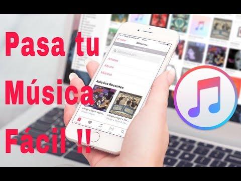 COMO PASAR MUSICA DE PC A TU IPHONE 2018 !!!!!