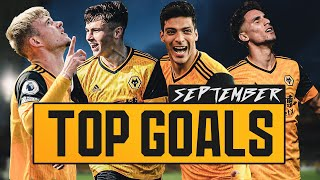 September Goal of the month nominees | Jimenez, Corbeanu, Cundle, Walker