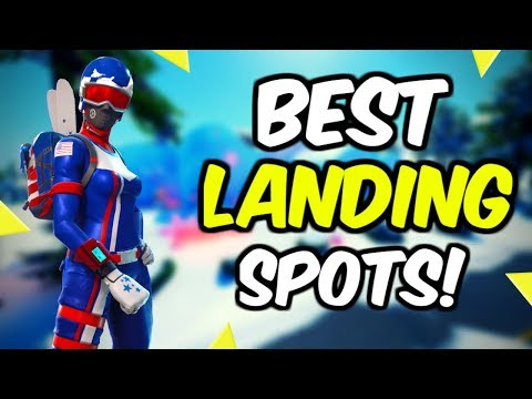 Best Landing Spots In Fortnite Chapter 2!