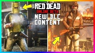 Red Dead Online - NEW DLC Content! Evans Repeater, Rare Shotgun, Trapper Clothing, Horses & MORE!