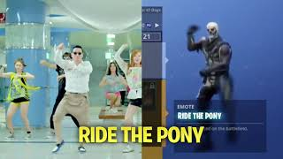 Fortnite Dances in Real life!