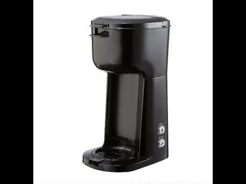 The $20 Walmart/Mainstays K Cup/ground coffee maker.  Is it worth it?