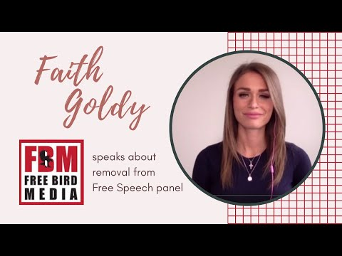 Faith Goldy speaks to FBM about removal from Free Speech panel