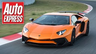 740bhp Lamborghini Aventador SV tested on track