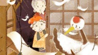 【絵本】つるのおんがえし(鶴の恩返し)・ねずみのよめいり(ねずみの嫁入り)【読み聞かせ】日本昔ばなし