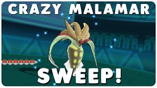 Crazy ORAS Wifi Battle Malamar Sweep!