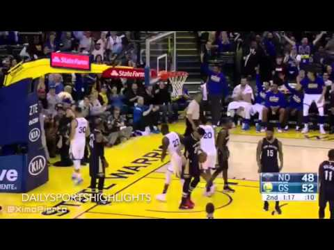 Golden State Warriors vs New Orleans Pelicans - Full Game Highlights | March 14, 2016 | HD