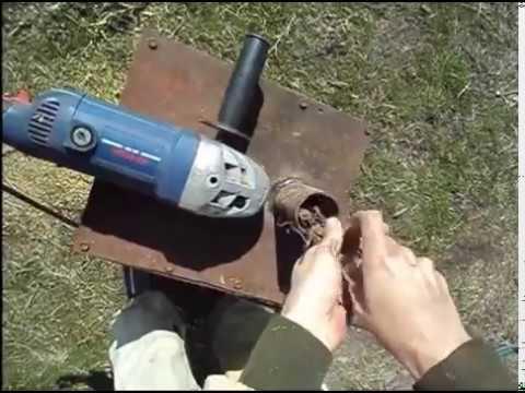 Измельчитель из болгарки 2.4 KW