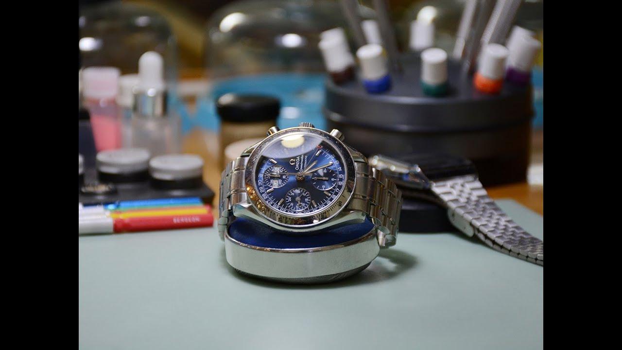 Bảo dưỡng, sửa chữa đồng hồ Omega Speedmaster Chronograph |Benhviendongho.com