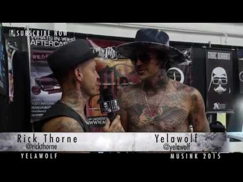 Yelawolf at Musink...Music and Tattoos