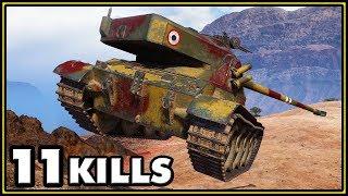 Bat.-Châtillon 25 t AP - 11 Kills - World of Tanks Gameplay