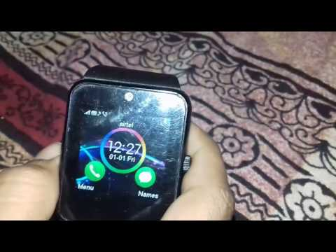 How To Easily Run Internet On Any GT08 Smartwatch
