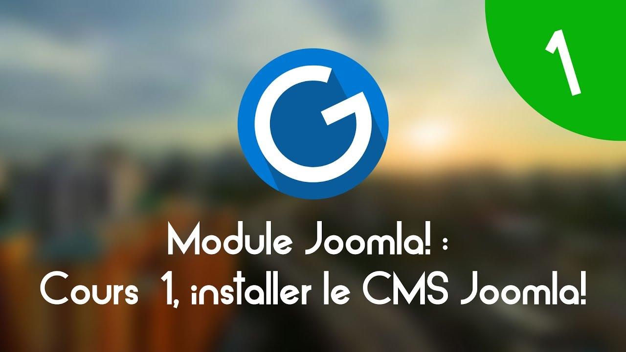 Download Formation IMM - Module Joomla!: Cours tuto 1 , installer le CMS Joomla!