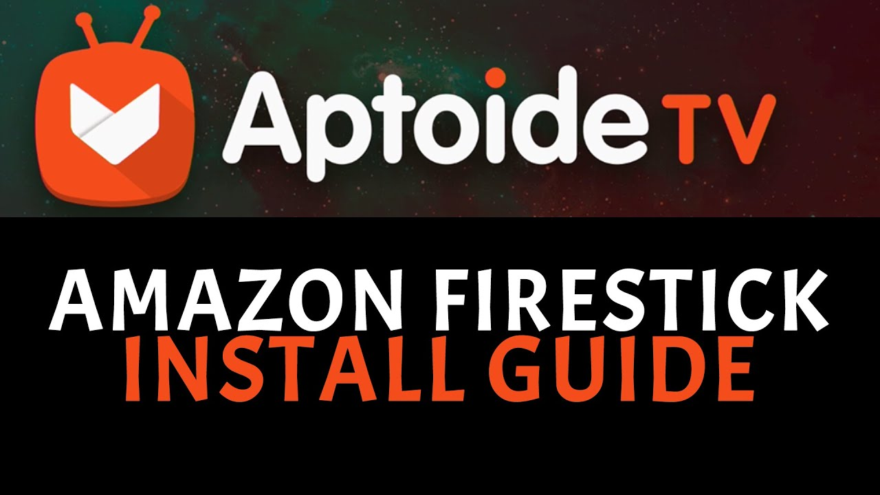 APTOIDE TV STORE: THE ONLY APK YOU NEED FOR THE FIRESTICK & FIRE TV  (PLAYSTORE ALTERNATIVE) 2019