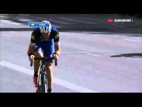 TOUR OF VALENCIA 2016 FINAL STAGE - Stjin Vandenbergh wins with a bag in his wheel