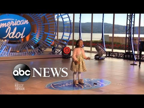 7-year-old Scores Golden Ticket To American Idol