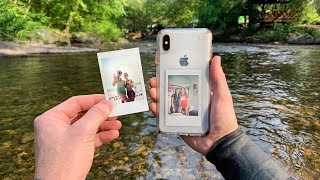 Found a Girls Lost iPhone X Underwater in the River! (Returned to Owner)