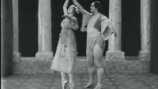 Very Early Ballet: Geltzer & Tikhomirov Pas de Deux 1913?