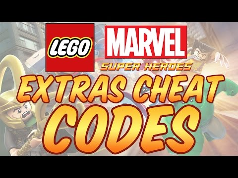 Lego Marvel Super Heroes - All Extras Cheat Codes