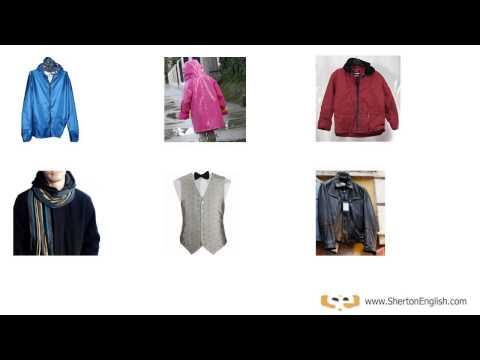 Ropa De Hombre Vocabulario En Inglés Mens Clothing