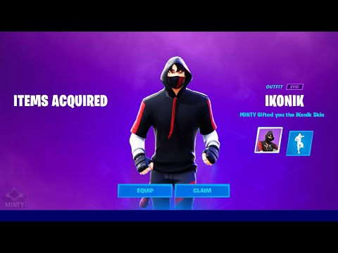 Download How To Get The Ikonik Skin In Season 7 For FREE!