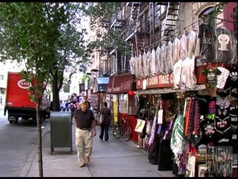 New york city video tour of the east village manhattan for The village nyc