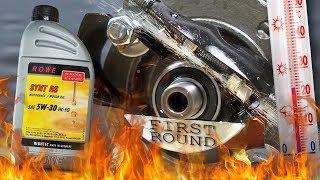 Rowe Hightec Synt RS 5W30 HC-FO Jak skutecznie olej chroni silnik? 100°C