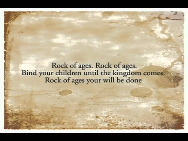 Rock Of Ages When The Day Seems Long Sandra Mccracken Chords