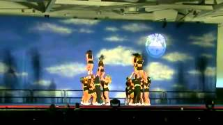 University of Regina Cheerleading - Sea to Sky International Championships 2012 - Collegiate Coed L6