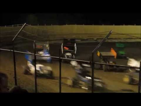 Creek County Speedway - Fred Mattox Tumble 8/30/14