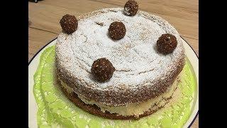 Готовим быстро и вкусно.Торт Ferrero Rocher.Ну очень вкусный!!!!!