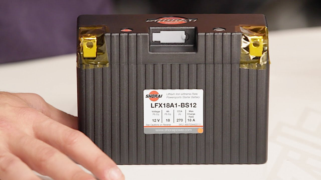 Shorai Battery Buying Guide At RevZilla