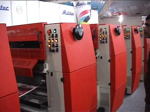 Variable Repeat Web Offset Press G5
