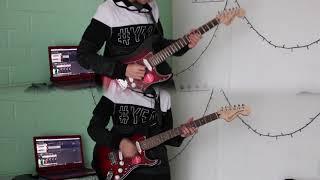 COVER Bailando Solo de Los Bunkers - Guitarra Eléctrica