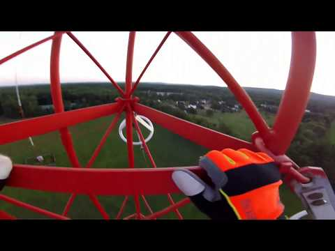 I climbed a radio tower! (COPS TAKE MY SHIT)