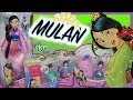 So Many Mulan Dolls!! Fashion Doll & Little Kingdom Review