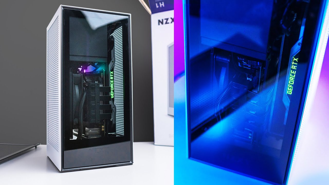 NZXT H1 Review - Downsize Your Gaming PC! - YouTube