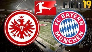 FIFA 19 | FC BAYERN MÜNCHEN vs. EINTRACHT FRANKFURT | BUNDESLIGA ◄FCB #32►
